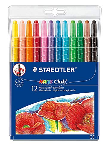 (Sg Education 221nwp12 St Noris Club Wax Twister (pack Of 12))