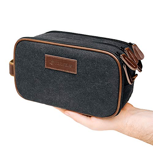 Canvas Dopp Kit  3 Compartments + Laundry Bag – Easy