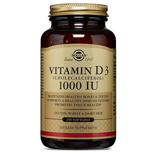 Solgar Vitamin Cholecalciferol 000 Softgels product image