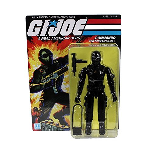 Gentle Giant Studios GI Joe: Snake Eyes Jumbo Action (Vintage Gi Joe Accessories)