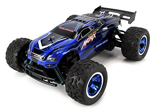 Velocity Toys S-Track Matrix Battery Operated RC Truggy B...