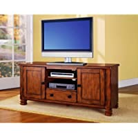 Summit Mountain TV Stand for TVs up to 50 (Rustic Oak)
