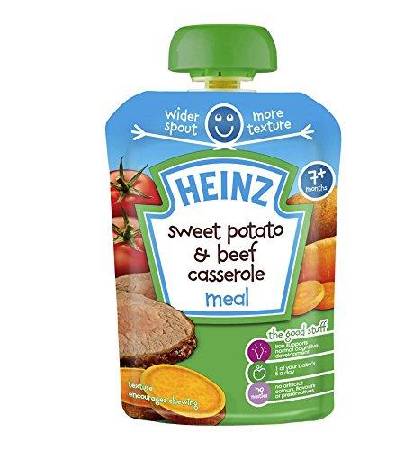 Heinz 7+ Months Sweet Potato & Beef Casserole Meal 130g ()