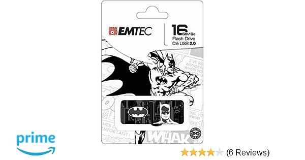 Emtec 16GB USB 2.0 Flash Drive BLACK