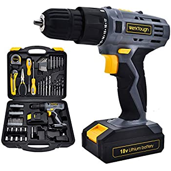 Stalwart Cordless Drill and Driver Combo, 74 Piece - Hand Tool Sets ...