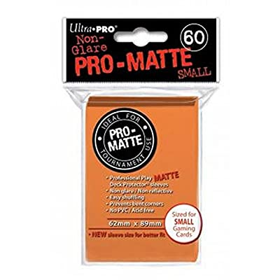 "Ultra Pro 84266 ""Pro Matte Small Sleeve (60-Piece): Toys & Games"