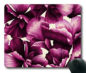 Lilyshouse Sweet Flower Pattern Design 003 Rectangle Mouse Pad