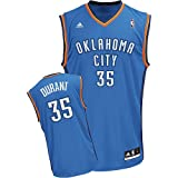 NBA Oklahoma City Thunder Kevin Durant Road Replica Jersey Blue, Large