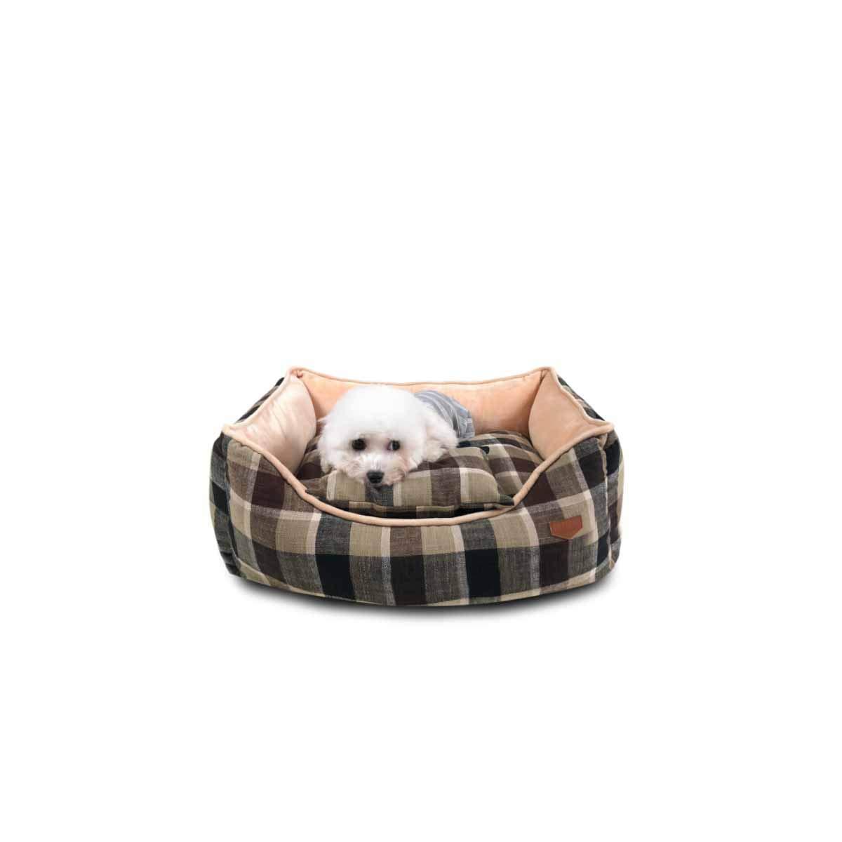 Brown S Brown S Muziwenju Kennel, Dog Mat, Warm Kennel, Winter Pet Nest, Winter Puppies, Small Dog Kennel, Winter Medium Kennel Kennel, Large Dog Kennel Big Kennel, golden Retriever Kennel, Removable CatKennel,