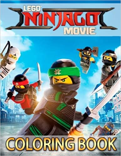 LEGO NINJAGO Movie Coloring Book For Kids Boys Girls 33 High Quality Illustrations Amazoncouk ACC Books Ltd 9781719167185