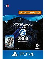 Ghost Recon Breakpoint - 2400 (+400) Ghost Coins 2800 Coins | Code PS4  Jeu à télécharger - Compte français