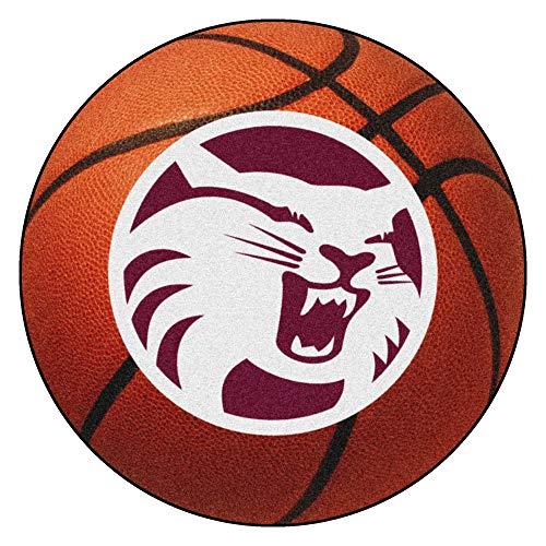FANMATS NCAA California State Univ.,  Chico Wildcats Nylon Face Basketball - Basketball Rug Chico