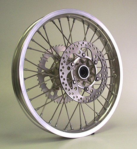 00-08 XR650R XR 650R Honda Rear Wheel 18x2.15 Rim w/ Sprocket & Disk 18