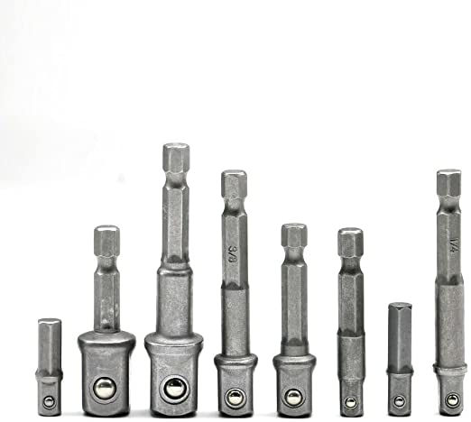 1//10,2/cm Tige hexagonale Foret 1//10,2/cm Drive Socket Adapter 30/mm /à roulement /à billes