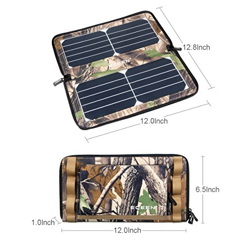 Eceen Solar Charger Panel With 10w High Efficiency
