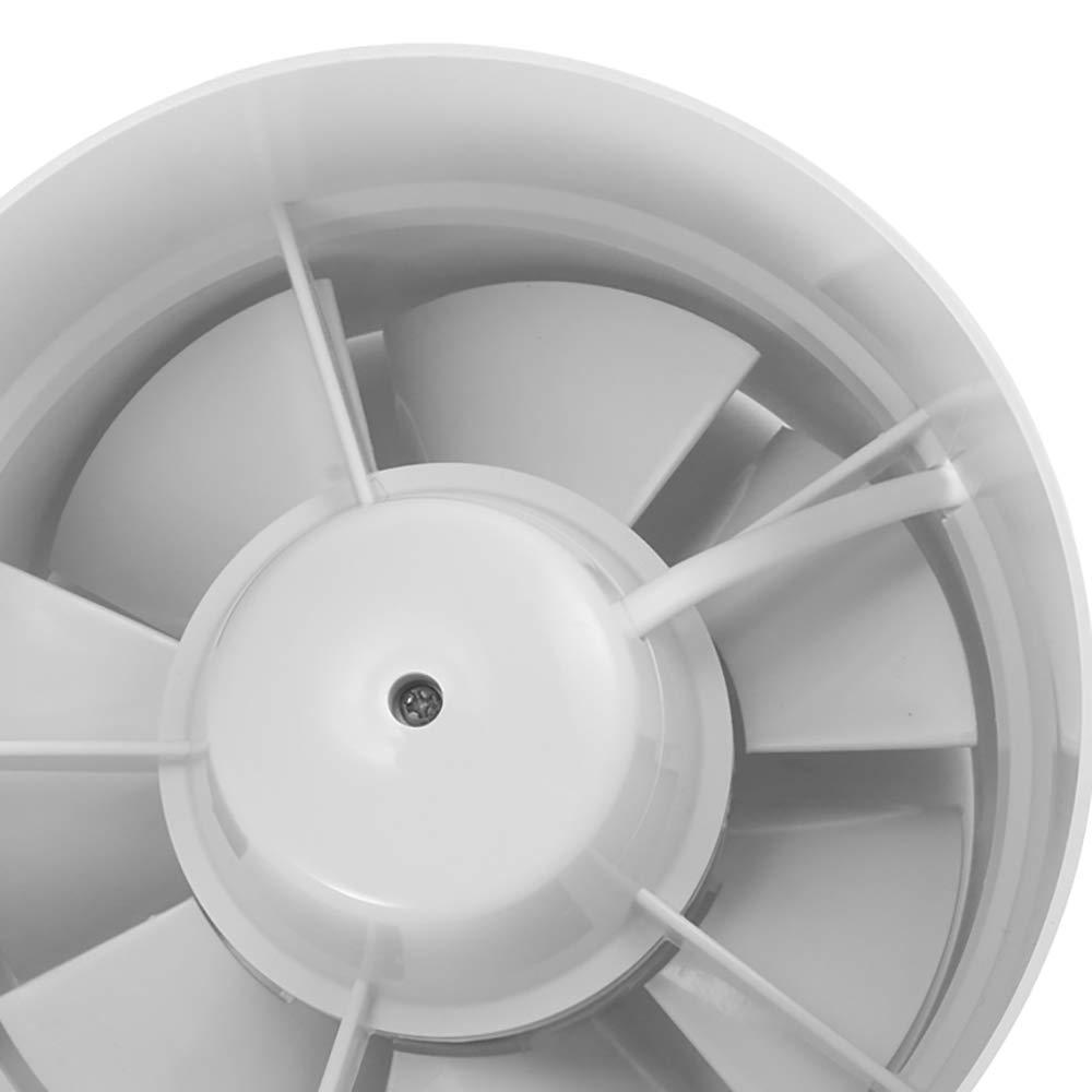 4 inch 100mm Rohrbel/üftungsventilator Inline-Rohrleitungsventilator Zwischenkonstruktion Grow Kitchen Bathroom Fan DEBEME Abluftventilator