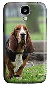 Samsung S4 Case Basset Hound hunting dog 3D Custom Samsung S4 Case Cover