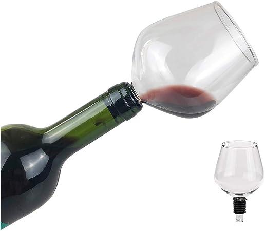 Eflyinglion Bicchieri Vino Rosso Calici Di Vino Bere Direttamente Dalla Bottiglia 260ml Amazon It Casa E Cucina