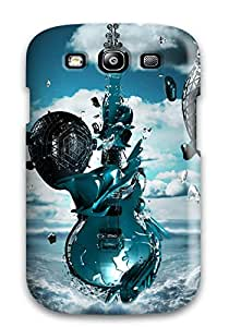 Slim Fit Tpu Protector Shock Absorbent Bumper Hd Desktop S Case For Galaxy S3