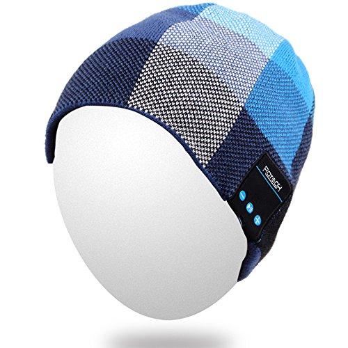 Blue Performance Knit Beanie - 4