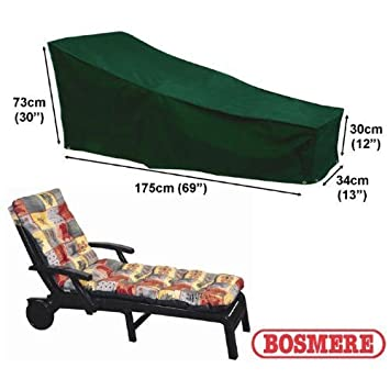 Bosmere C565 Sun Lounger Cover Green .
