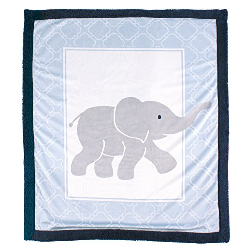 luvable-friends-blanket-with-sherpa-backing-elephant