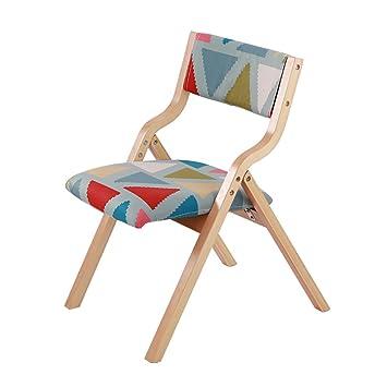Sillas de Madera para sillas Plegables Silla de Comedor para el ...