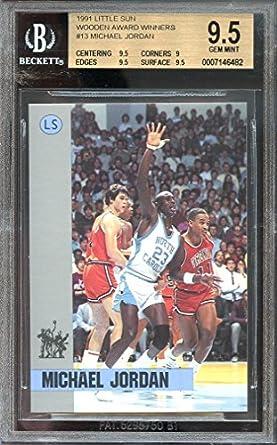 Amazoncom 1991 Little Sun Wooden Award Winners 13 Michael Jordan