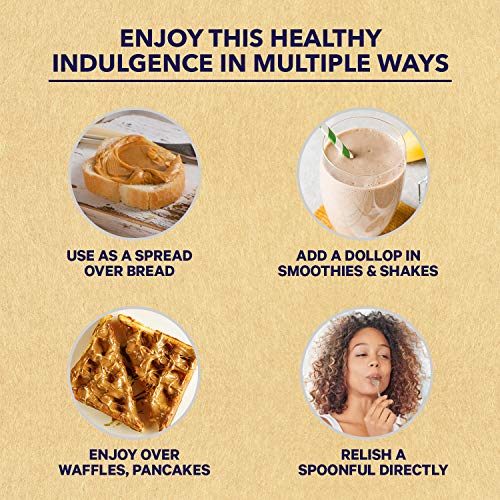 Saffola Fittify Gourmet Healthy Super Creamy Honey Peanut Butter, 250 gm (Pack of 2)