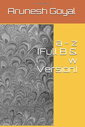 a - z (Full B & w Version)