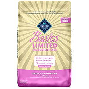 Blue Buffalo Basics Limited Ingredient Diet, Natural Adult Small Breed Dry Dog Food, Turkey & Potato 1