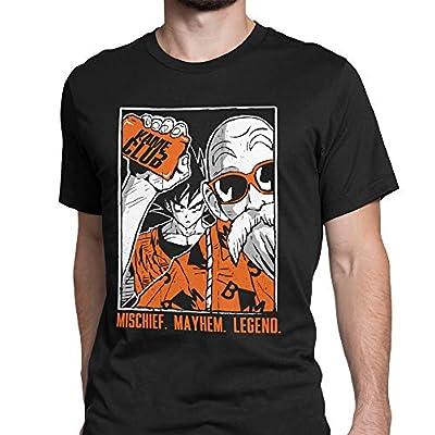 Tee No Evil Kame Club Goku Master Roshi T Shirt for Men | .com