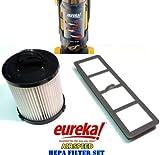 eureka airspeed exhaust filter - Eureka AirSpeed Bagless Upright HEPA Filter Replacement Set.