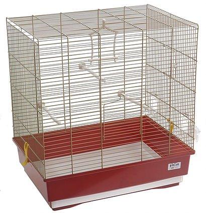 Sara jaula para pájaros, Canarios Periquitos 51 x 35 x 54 H ...