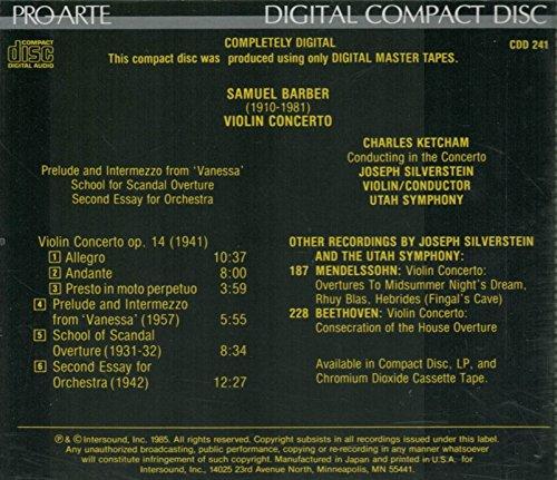 barber clarinet concerto corigliano essay john orchestra samuel third John corigliano, concerto for clarinet and orchestra/samuel barber, third essay for orchestra.
