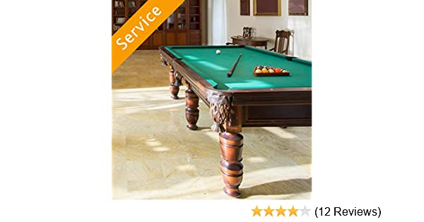 Pool table assembly amazon home services greentooth Images