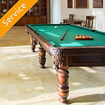 Pool table assembly amazon home services pool table assembly greentooth Images