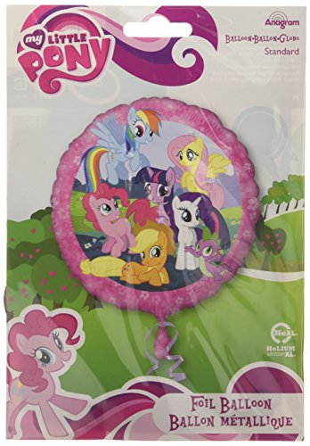 Anagram International HX My Little Pony Party Balloons, Multicolor