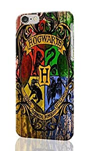 """SUUER harry potter logo iPhone 4/4s - es Case , Designer Personalized Custom Plastic Hard CASE for iPhone 4/4s (5.5"""") Durable New Style Rough Skin 3D Case Cover"""