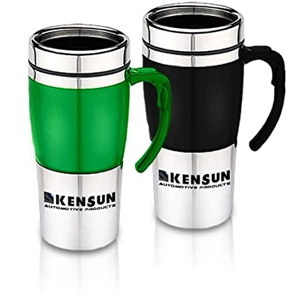 Kensun 12V Heats to Boiling Car Thermos Mug (350 ml, 12oz Thermos Mug,