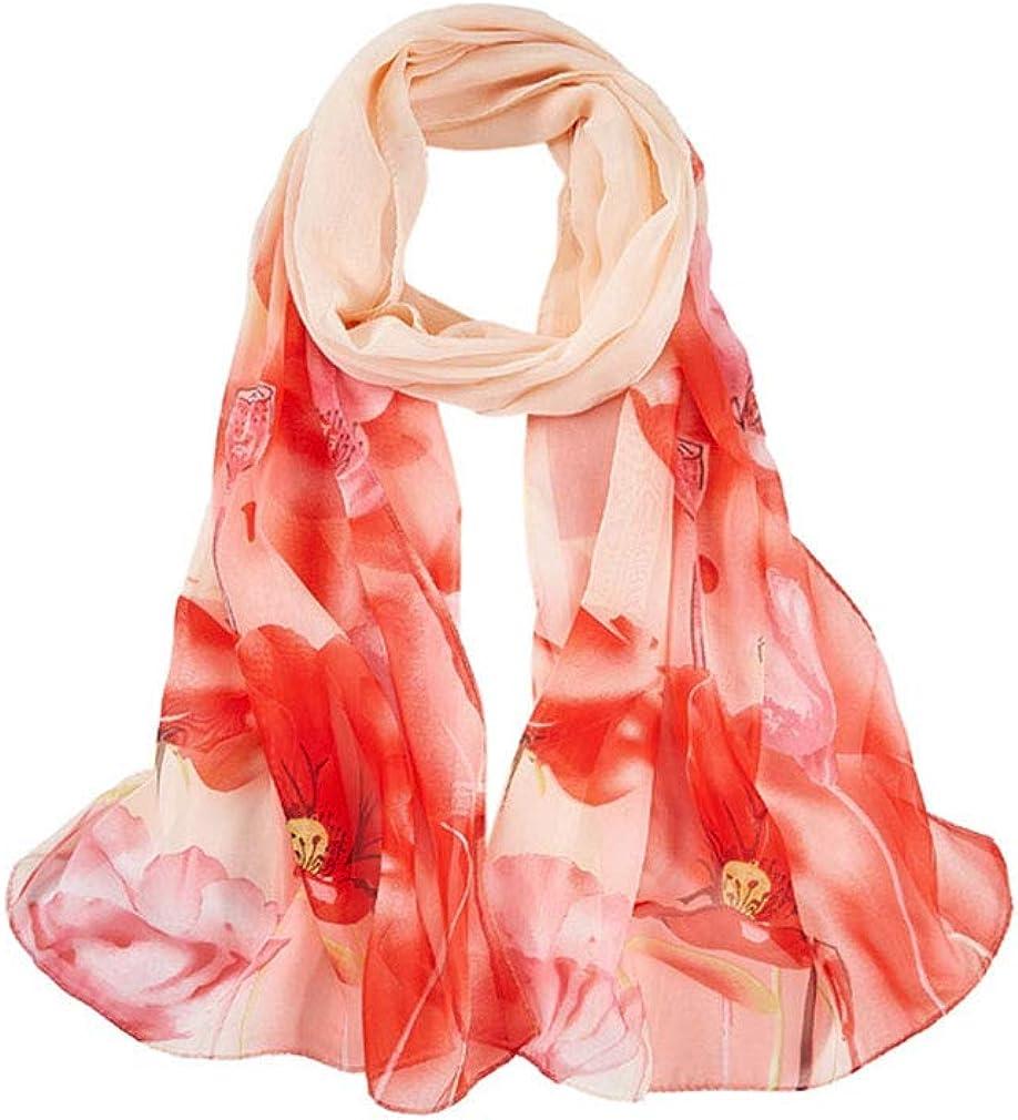 English Rose Floral Print Scarf Pink