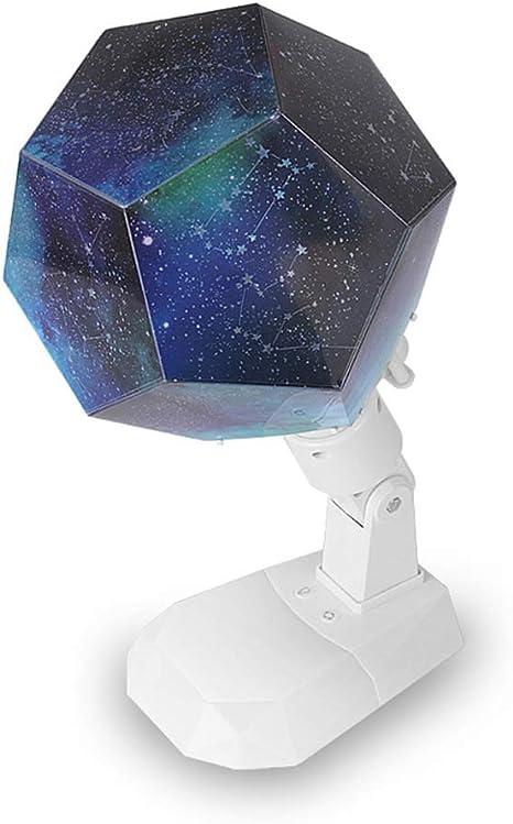 Lámpara de iluminación nocturna,Proyector giratorio de luz estelar ...