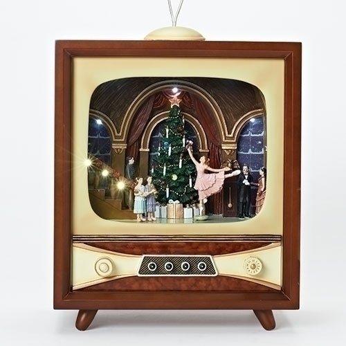 Roman - MUS 22'LED NUTCRACKER SUIT TV ROTATES; IC CHIP; B/O W/O BATT