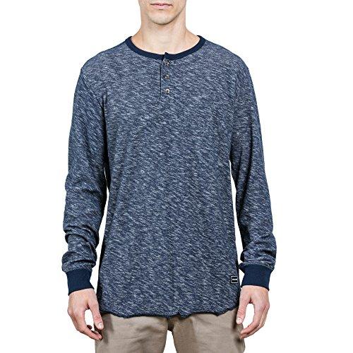 Volcom Men's Standard Moxie Long Sleeve Henley Shirt