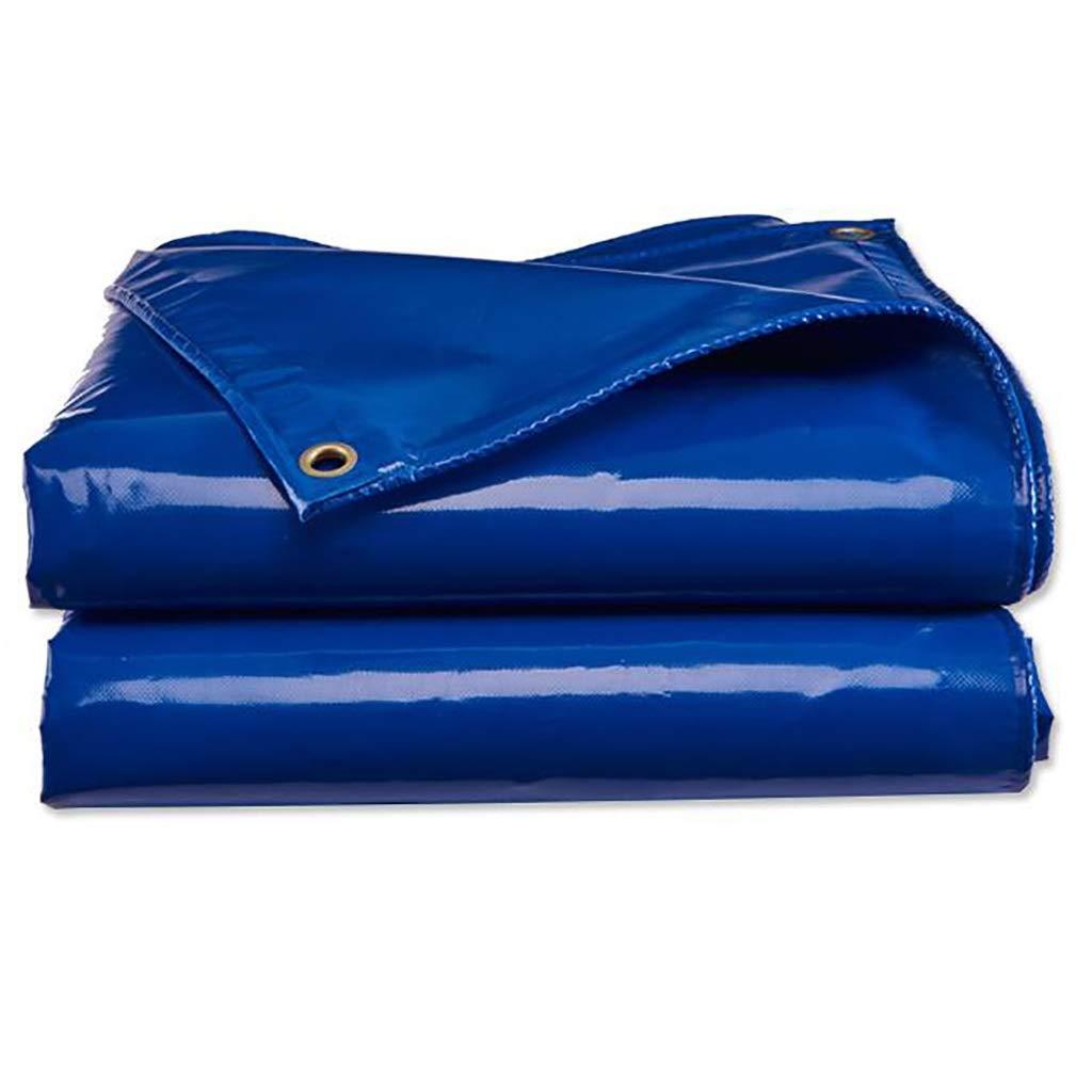 防水防水シート、厚い屋外日陰雨日焼け止めPE雨布絶縁布バルコニーレインカーテンクロップ布 (サイズ さいず : 4*3m) B07RKWS43S  4*3m