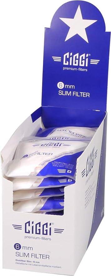 Ciggi Premium 6mm Slim Filter Zum Drehen Mit Klebefläche Küche Haushalt