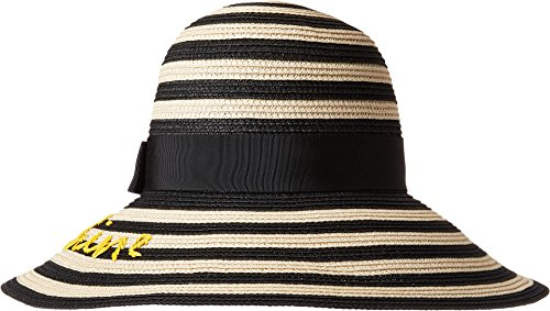 Kate Spade New York Women's Hey Sunshine Sun Hat Black One Size by Kate Spade New York (Image #3)