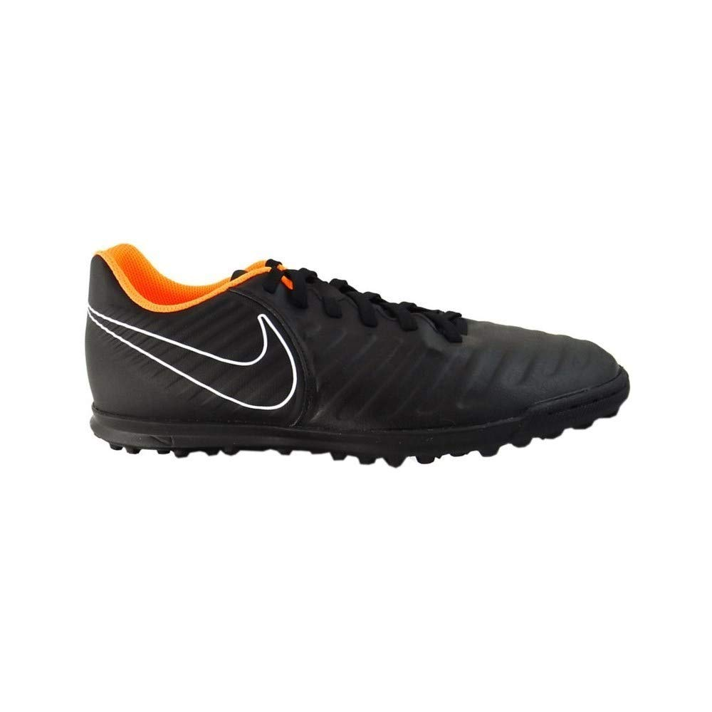 746987f15 Amazon.com  Nike Jr. LegendX 7 Club (TF) Astro Turf Trainers -  Black Orange  Sports   Outdoors