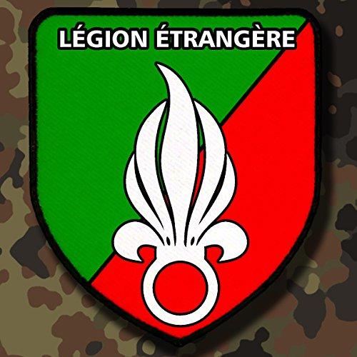 Patch / Aufnä her - Lé gion é tangè re Franzö sische Fremdenlegion Wappen Abzeichen #4863 Copytec