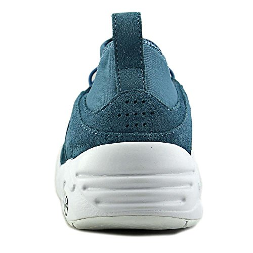 ddc5be2dc14f lovely Puma Blaze of Glory Soft Women Round Toe Leather Blue Sneakers